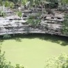 The Sacred Pool of Chichen Itza at Autumn Equinox