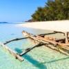 Zanzibar-badestrand