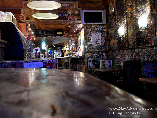 the Hill Street Blues Cafe in Amsterdam