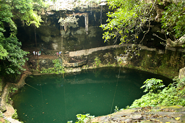 Cenote Zaci in Valladolid Mexico