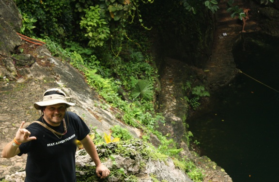 Stay Adventurous at Cenote Zaci in Valladolid