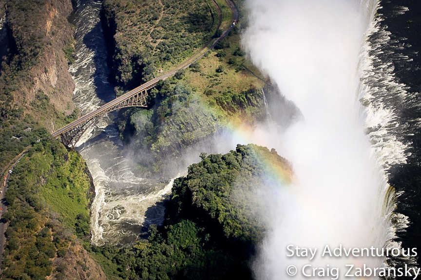 victoria Falls, zimbabwe and Zamibia, in southern Africa