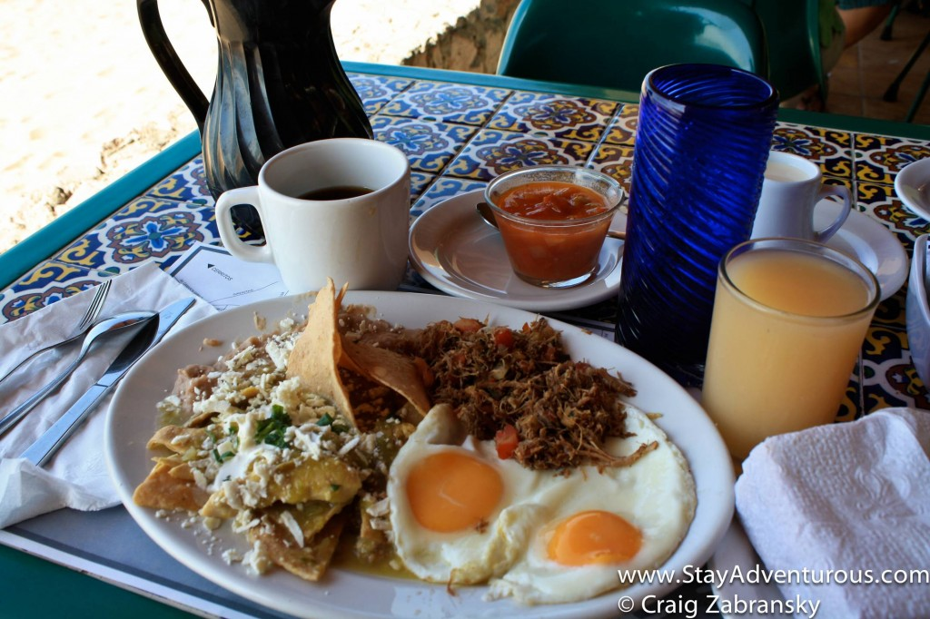 Chilaquiles Verde - it is what is for breakfast