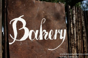 the bakery sign in solitaire, namibia