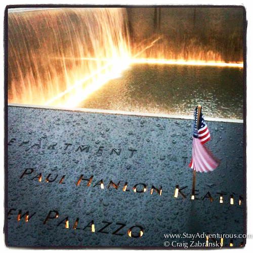 september 11th memorial in new york city.