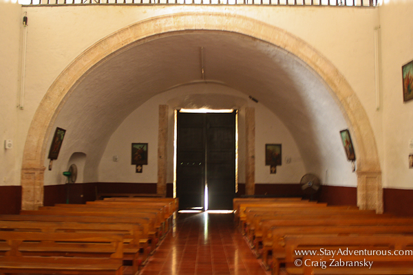 The Chapel in San Bernardino Convent Valladolid, Mexico