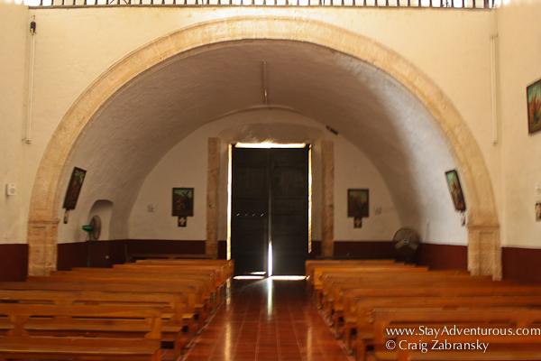 The Chapel in San Bernardino Convent Valladolid, Mexico