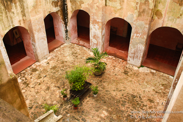 The Cloister at San Berardino Convent in Valladolid