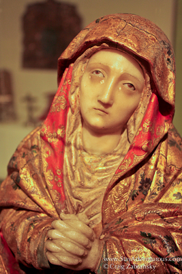 the virgin Mary in Guatemala Museum