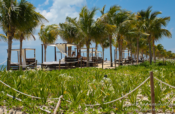 the beach at timeshare at hacienda tres rios, riviera maya