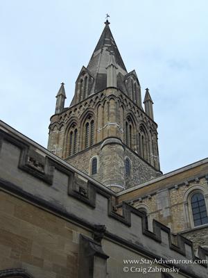 Christ Church Steeple at Oxford