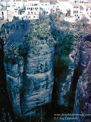 Ronda atop the Gorges of Spain