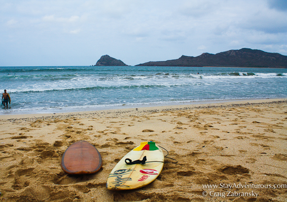 surf in the golden zone and playa camarones in Mazatlan, Mexico