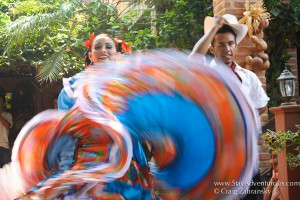 the dance performance at el meson de los laurenanos in el quelite, sinaloa, mexico