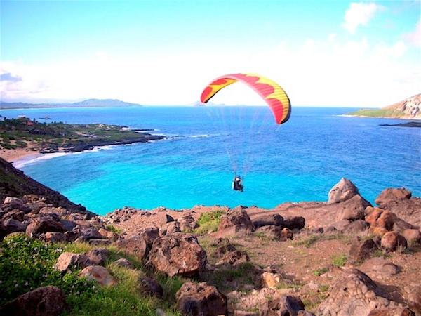parasail in hawaii