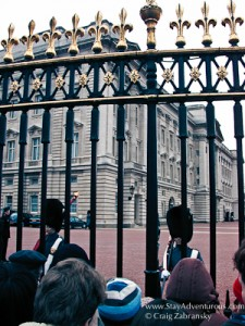 Changing of the Guard at Buckingham Palace in London