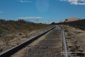 the mexcian railroad in the Chihuahua desert