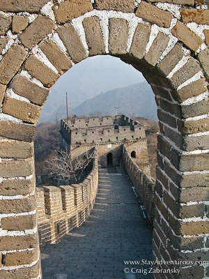 the Great Wall is more than just a wall, this is a path