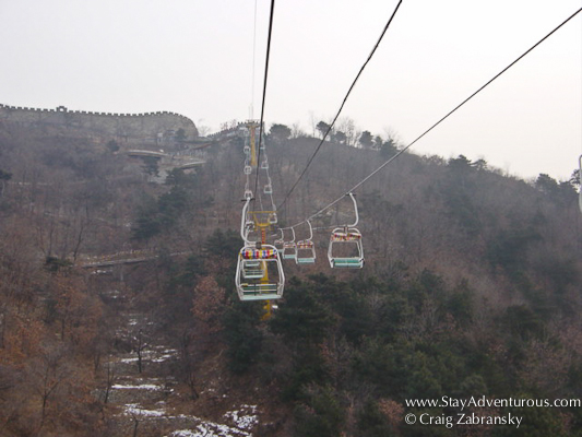 Great Wall of China Chairlift at Mutianyu
