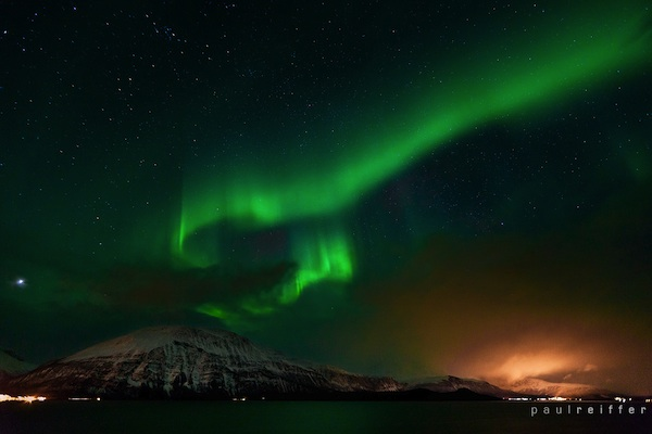 the Northern Lights Aurora Borealis in Tromso, Norway _Tromso_