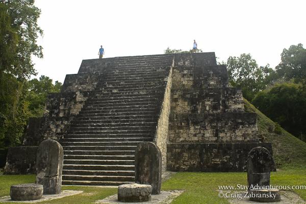 Ruins at Tikal in Guatemala