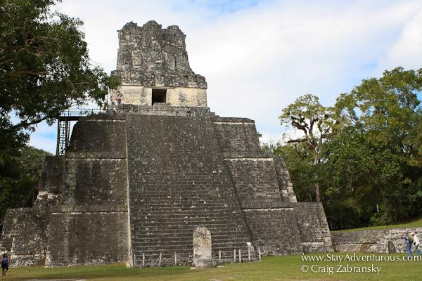 Templo II - Tikal, Guatemala