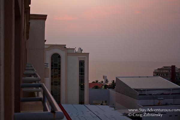 sunset in veracruz