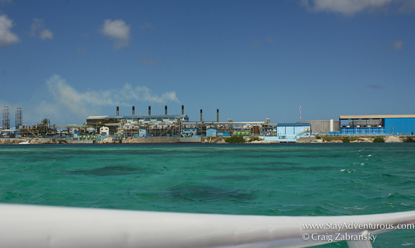 ferry ride from Aruba to De Palm Island