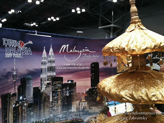 ny times travel show 2013, malaysia booth