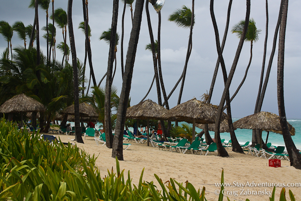 beach at Grand Palladium, Punta Cana, DR