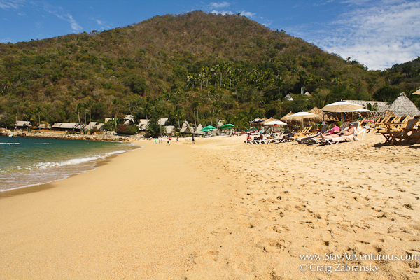 the beach of Yelapa Mexico
