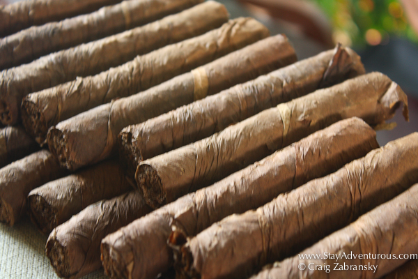 the hand made and hand rolled cigars of Veracruz in Catemaco, Veracruz, Mexico