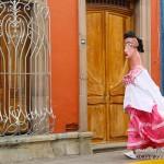 streets of Oaxaca City, Oaxaca, Mexico