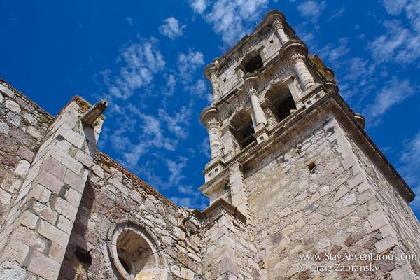 the church in copala, sinaloa, mexico