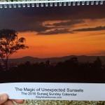 the 2016 sunset sunday calendar cover