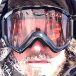 self portrait on the iPhone5 from the Arctic Adventure in Churchill, Manitoba