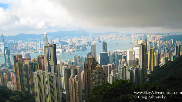 victoria peak hong kong, a city of contrasts