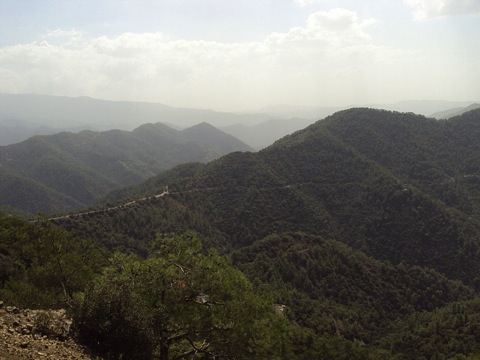 photo of untouched cyprus, the mountains in cyprus