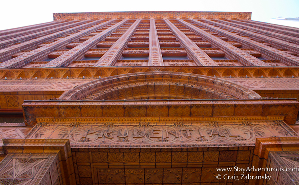 the Guaranty Building, now used by Prudential, is one of the most stunning buildings in Buffalo if not the US