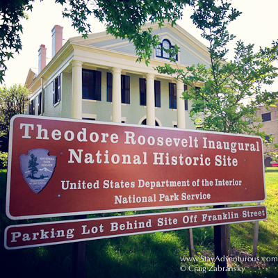 the Theodros Roosevelt Inaugural Museum in Buffalo, New York