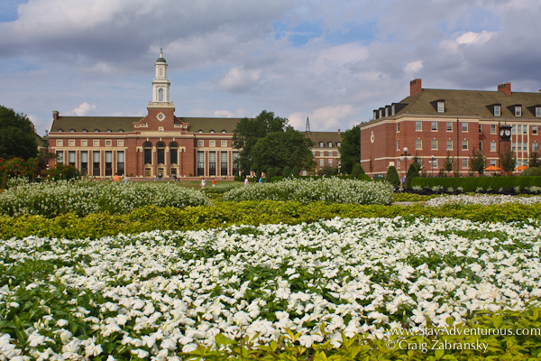 the campus of Oklahoma State in Stillwater, Oklahoma