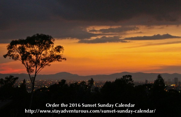2016 Sunset Calendar Cover