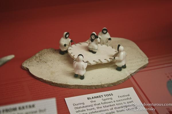 art atthe eskimo museum in http://www.frontiersnorth.com/