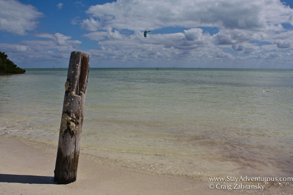 the open sea, a view from Anne's Beach, Florida Keys