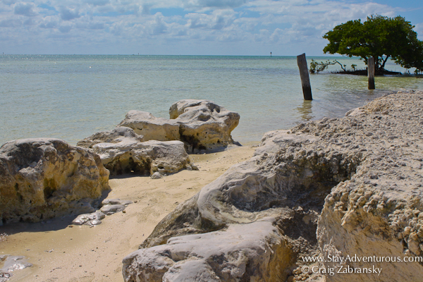 the view of Anne's Beach, Florida Keys, Florida