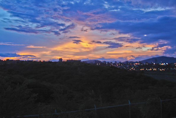 sunset in Barquisimeto, Venezuela