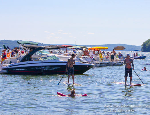 lake wallenpaupack wally lake fest pocono mountains, Pennsylvania SUP