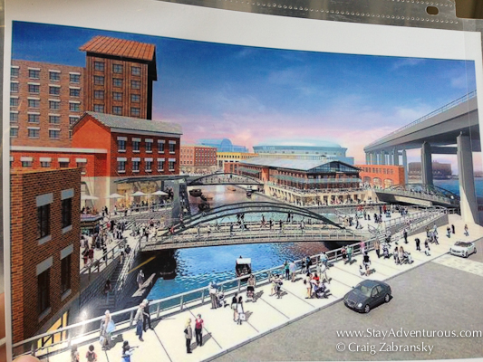 the future design of the waterfront as part of the Architecture of Buffalo, New York