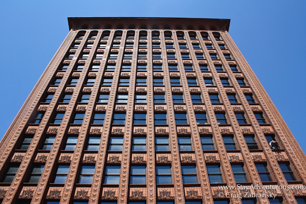 the sky scraper Guranty Building as part of the Architecture of Buffalo, New York