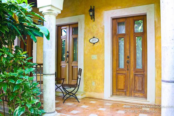 Hacienda Xcanatun in Merida, Yucatan suite 311